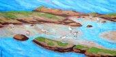 Plovers at Low Tide  (Baja Landscapes #16)