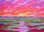 Sunrise 3 (Baja Landscapes #20)